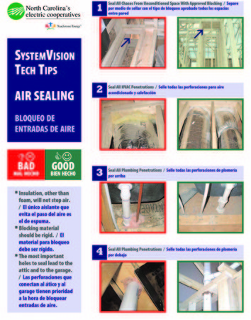 Advanced Energy Air Sealing Handout 1